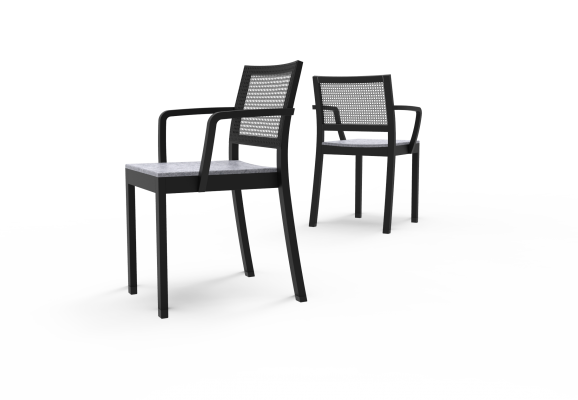 ST4N Gritsch, Sitzpolster, kurze Armstützen