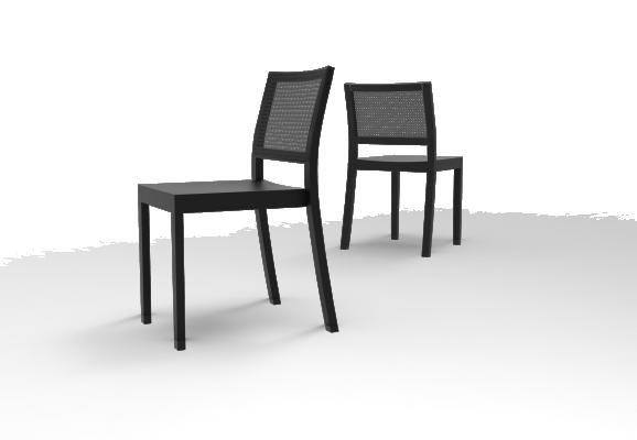 ST4N Gritsch, Holzsitz, keine Armstützen