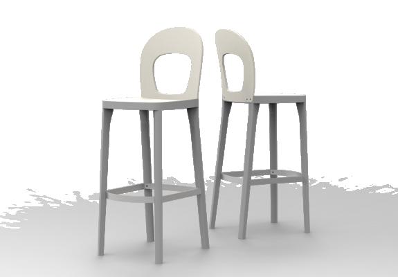 Sitz und Rücken Holz, SH 79