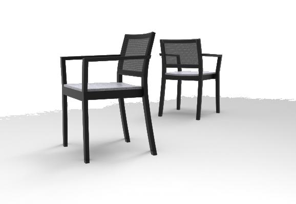 ST4N Gritsch, Sitzpolster, lange Armstützen